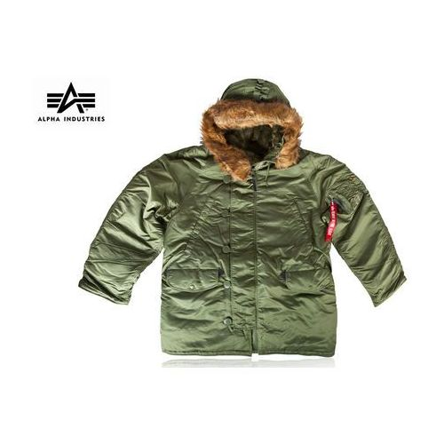 Alpha industries Kurtka n-3b parka sage green