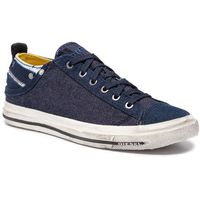 Diesel Tenisówki - exposure low i y00321 p2180 h3303 indigo blue multicol