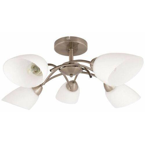 Plafon lampa sufitowa Spot Light Viletta 5x40W E14 patyna 8141511