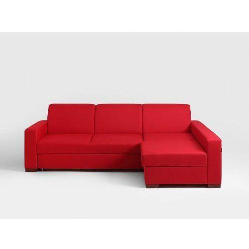 Narożnik rozkładany Customform LOZIER P Krwista czerwień- różne kolory tapicerki, SF040LOZ-P-ET6030 (11460718)