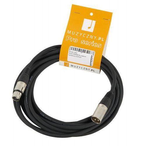 mic 5m przewód mikrofonowy xlr-f - xlr-m marki 4audio