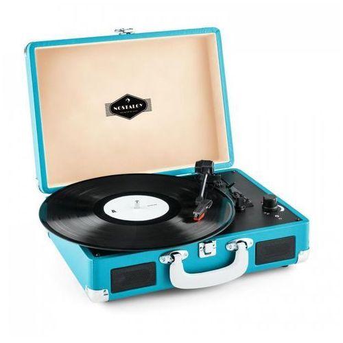 Auna Peggy sue gramofon w stylu retro lp usb niebieski