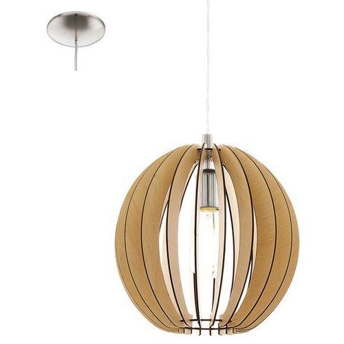 Cossano 94764 lampa wisząca drewno klon marki Eglo