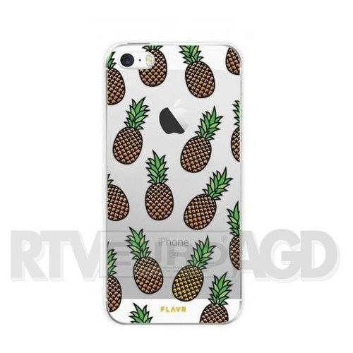 Flavr Etui iplate pineapples do apple iphone 5/5s/se wielokolorowy (27093) (4029948054353)