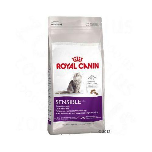 Royal canin sensible 33 0,4kg. Najniższe ceny, najlepsze promocje w sklepach, opinie.