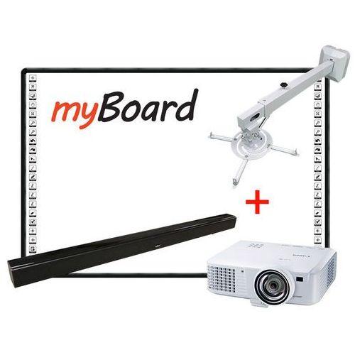 Myboard Zestaw interaktywny black standard panorama