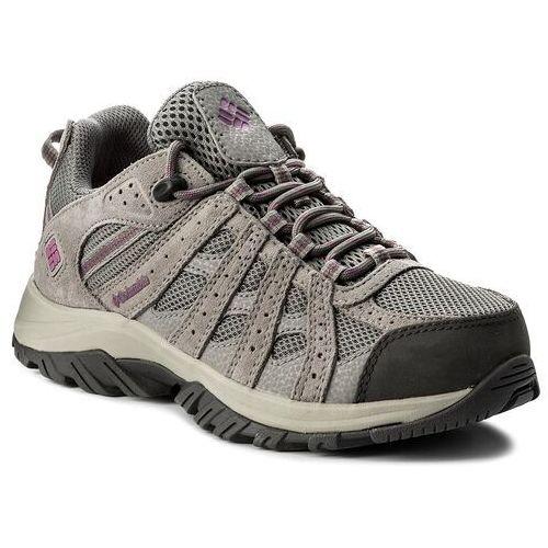 Trekkingi - canyon point waterproof yl5416 charcoal/intense violet 032 marki Columbia