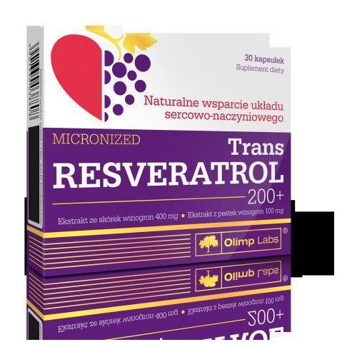 TRANS RESVERATROL 200+ mikronizowany 30kaps