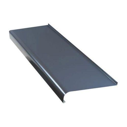 Parapet zewnętrzny stalowy Fola 20 x 200 cm grafitowy