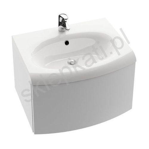 RAVAK szafka pod umywalkę SDS Evolution, z szufladą, biała X000000365