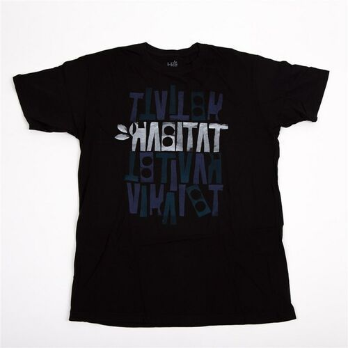 koszulka HABITAT - Artisan Apex Black Cerna (CERNA) rozmiar: S