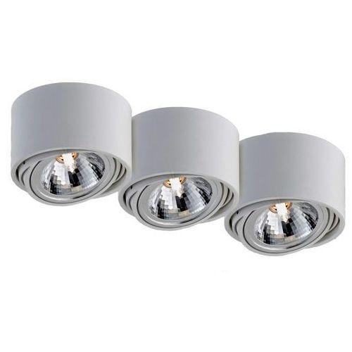 Kaspa - oprawa stropowa natynkowa potrójna - lumos - biała - biały (70253301)