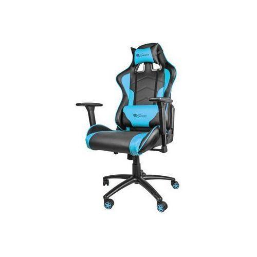 Fotel Genesis NITRO 880 czarno-niebieski (NFG-0786) Darmowy odbiór w 20 miastach!, NFG-0786