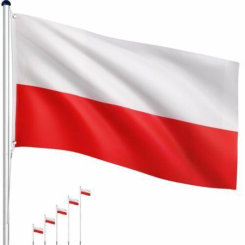Maszt flagowy- flaga polska - 6,50 m marki Tuin