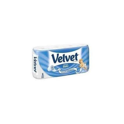 Papier toaletowy VELVET biały XXL 8 rolek - X10206 - produkt z kategorii- Papier toaletowy