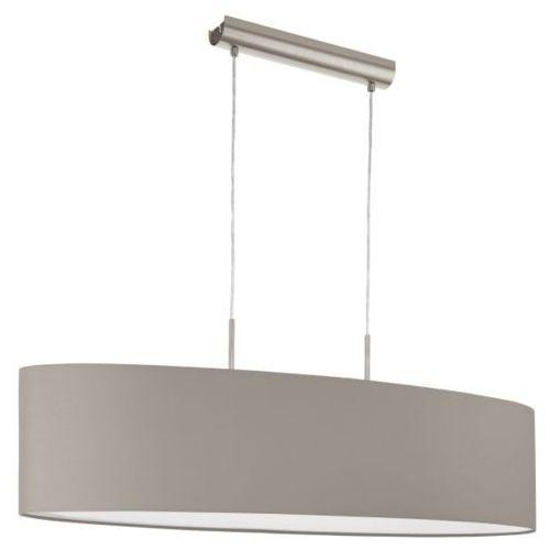 lampa wisząca PASTERI ciemnoszara 100 cm, EGLO 31585