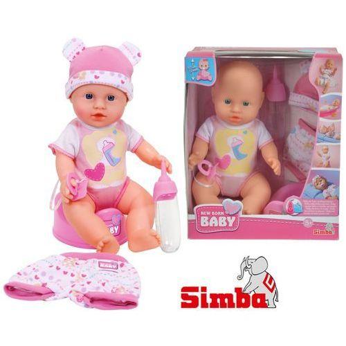 Simba Lalka new born baby - bobas z ubrankami