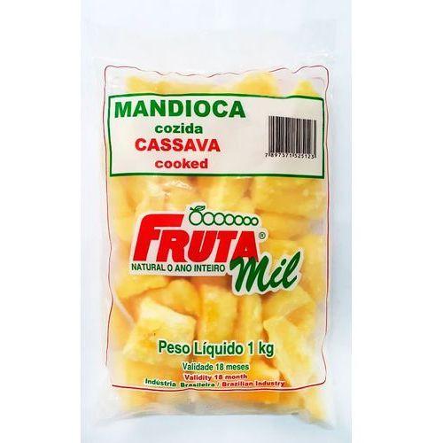 Cassava premium - mrożone frytki z manioku - 1 kg marki Frutamil comércio de frutas e sucos ltda
