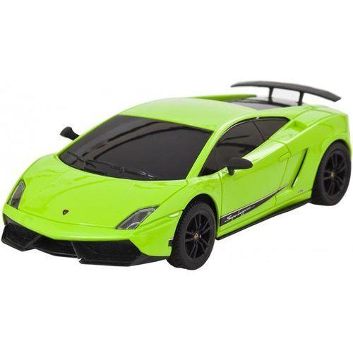 Buddy toys Samochód zdalnie sterowany  lamborghini gallardo superleggera lp 570 zielony + zamów z dostawą jutro! (8590669114450)