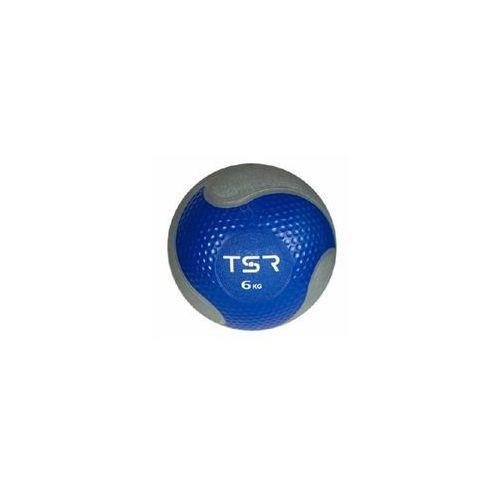 Tsr piłka lekarska kauczukowa- niebieski, 6 kg - niebieski \ 6 kg