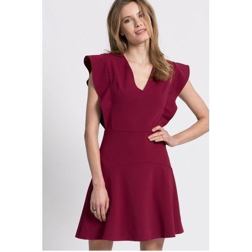 Guess Jeans - Sukienka, kolor czerwony