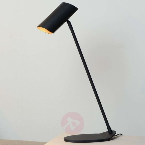 Lucide 19600/01/30 - Lampa stołowa HESTER 1xGU10/7W/230V czarna (5411212193834)