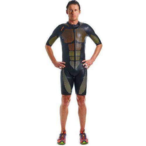 Colting wetsuits sr02 mężczyźni żółty/czarny s 2018 pianki do swimrun