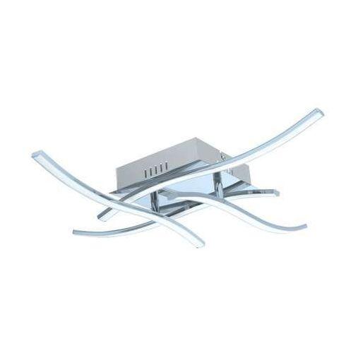 Eglo Plafon valmora 96327 lampa oprawa sufitowa 4x5w led chrom/biały (9002759963279)