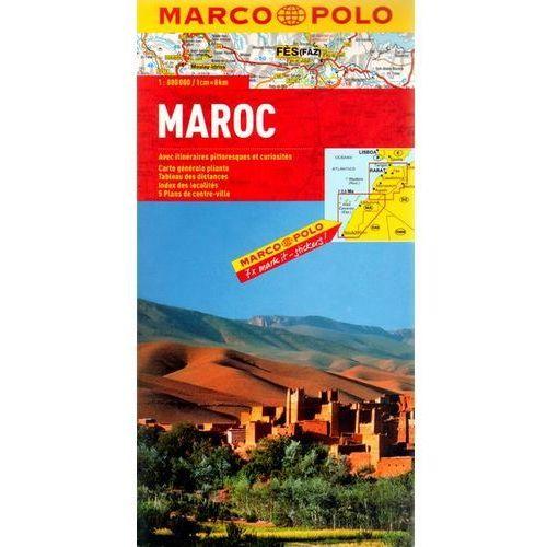Maroko 1: 800 000 - mapa Marco Polo, oprawa twarda