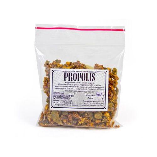 Pasieka z pasją hawran paweł Propolis woreczek 50 g. Najniższe ceny, najlepsze promocje w sklepach, opinie.