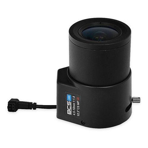 Bcs -451012mir megapixelowy obiektyw 4.5-10 mm z przysłoną automatyczną do 12 mpx