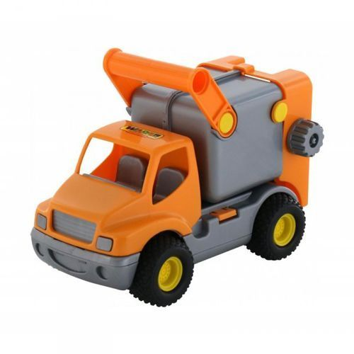 Wader samochód śmieciarka construck marki Wader quality toys