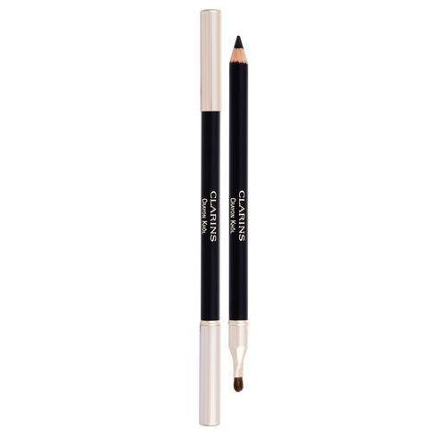Clarins long-lasting eye pencil kredka do oczu 1,05 g dla kobiet 01 carbon black