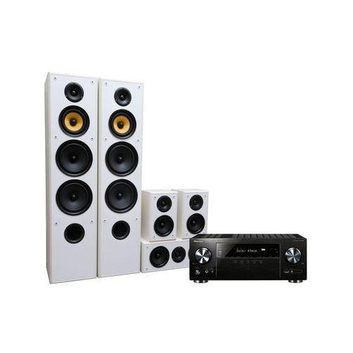 Pioneer Kino domowe vsx-832b + taga tav606 biały