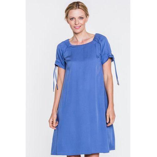 Sukienka w błękitnym kolorze - Metafora, 1 rozmiar