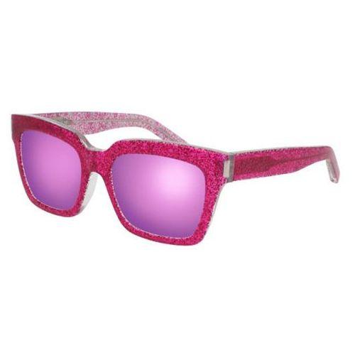 Okulary słoneczne bold 1/f asian fit 010 marki Saint laurent