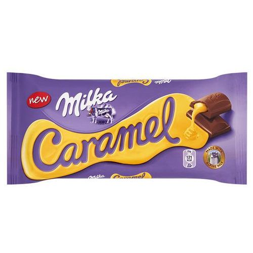 Milka Czekolada Caramel 100 g