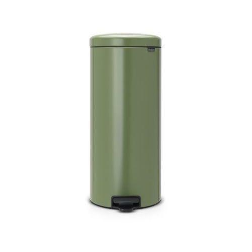 Brabantia - kosz newicon - 30 l - plastikowe wiadro i wolnoopadająca pokrywa - zielony - zielony