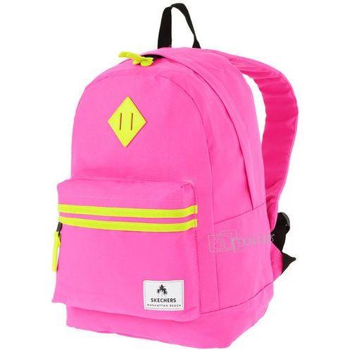 Skechers Neonsplash plecak miejski - tablet - różowy, kolor różowy