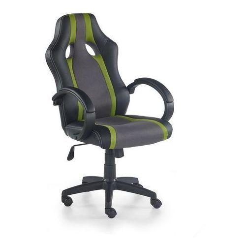 Halmar Fotel dla gracza, gamingowy radix zielony