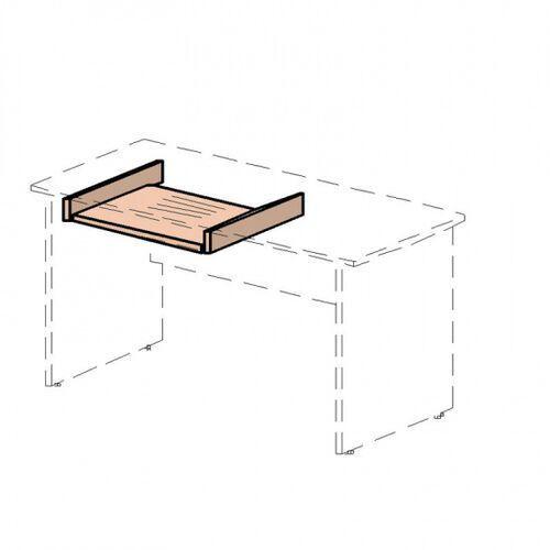 Lenza Wysuwana płytka na klawiaturze, grusza, 69,3 x 50 x 8 mm