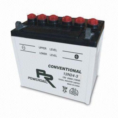 Akumulator motocyklowy Poweroad 12N24 3A 24Ah 200A