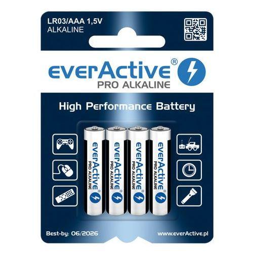Everactive 4 x baterie alkaliczne pro lr03 / aaa (blister)