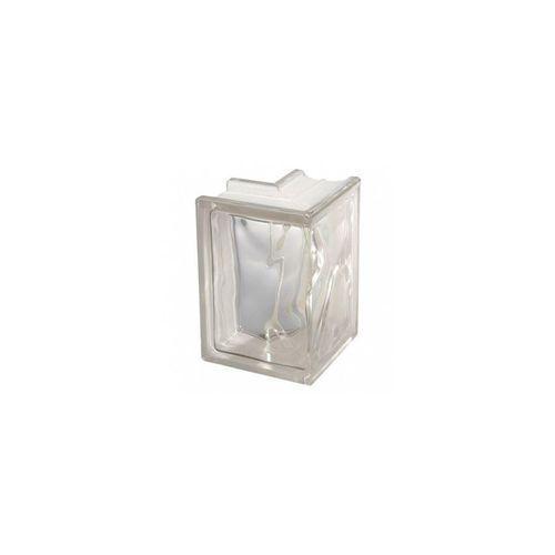 Seves basic Pustak szklany chmurka narożny 1908 / w ec szer. 19 cm x gł. 8 cm