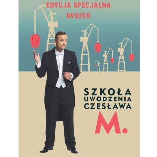 Szkoła uwodzenia Czesława M. Pakiet DVD+CD (9788326825415)