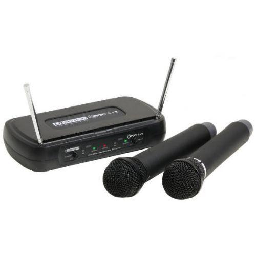 LD Systems WS ECO2x2 HHD2 mikrofon bezprzewodowy, podwójny (863.900 MHz / 864.900 MHz)