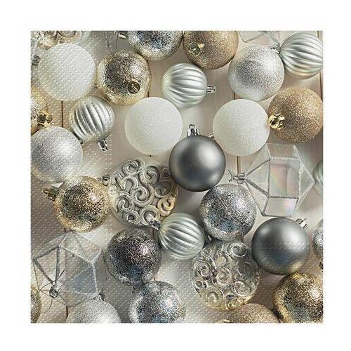 Paw decor Serwetki świąteczne glamorous christmas 33 x 33 cm 20 szt.