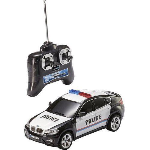 Samochód RC dla początkujących Revell Control BMW X6 Police, 1:24, Elektryczny, 190 mm, 180 g, RtR