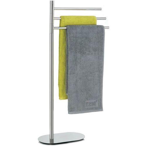Stalowy stojak regulowany na trzy ręczniki kąpielowe Lucido Kela (KE-22699), 22699