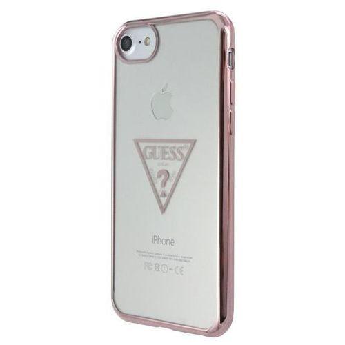 Guess Etui hardcase Triangle iPhone 7 różowo-złoty (GUHCP7TRTLRG) Darmowy odbiór w 21 miastach! (3700740398081)